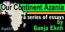 Button:Our Continent Azania by Ganja!